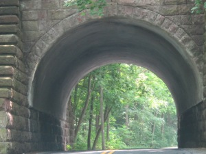 Arched drive in Lancaster PA