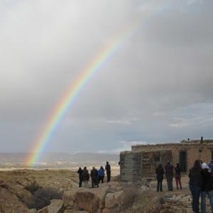 Acoma Pueblo Rainbow
