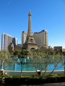 Eiffel Tower in Vegas?