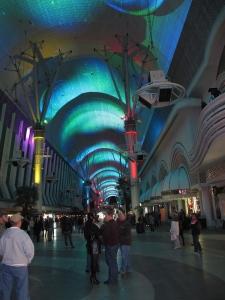 Fremont Street Experience Laser Light Show