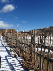 Taos Pueblo in Winter