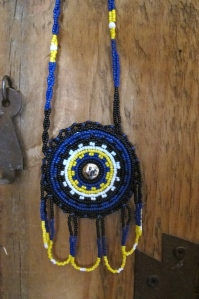 Apache Beaded Necklace